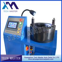 China Hose Crimping Machine For Strut Shock Absorber 100T Mananul Hydraulic Machines wholesale
