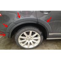 China Black Plastic PP Volkswagen Touareg 2011 Wheel Arch Flares Durable wholesale