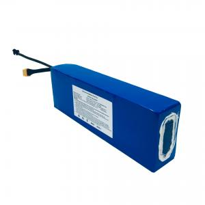 China MSDS 36V 4Ah Electric Scooter Lithium Battery CC CV Rechargeable wholesale