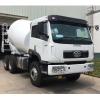 China 10cbm Right Hand Drive 6x4 Concrete Mixer Truck With 3m3/Min Charging Speed And 400L Water Tanker wholesale