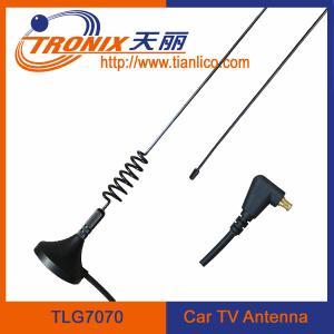 China outdoor glass tv satellite antenna/ digital car tv antenna TLG7070 wholesale