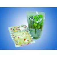 China Colored Printed Food Vacuum Seal Bags With Clear Front And Bottom Gusset wholesale