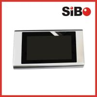 China Wall Surface Mount 7 Inch No Buttons Android Touch Panel POE wholesale