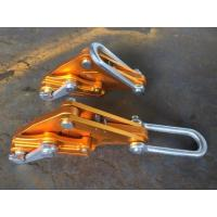 China No Damaging Wire Grip Clamp , Light Conductors Adjustment Cable Pulling Clamp wholesale
