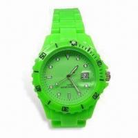 China Fashionable Quartz Watch with Japanese Multifunction Movement, Customized Logos Welcomed, Waterproof wholesale