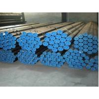 China Black Painted Seamless Steel Pipe ASTM A53 Grade A For Structure / Construction wholesale