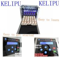 Multiple Nozzle High Resolution PrinterFor Food Industry , Egg Date Stamp Machine