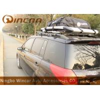China Waterproof Roof Top Cargo Bag Car Roof Storage 420d Nylon Material In Black wholesale