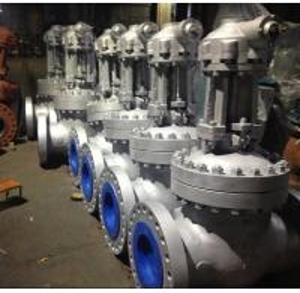 China Pneumatic WC9 API 600 Gate Valve High Chlorinated Polyethylene HCPE Painting wholesale