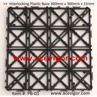 China PB-01 Interlocking Plastic Base, Plastic mats, Plastic tile wholesale