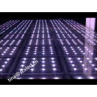 China Optical Illusions Mirror Wedding Dance Floor , Light Up Floor Tiles MBI 5024 IC wholesale