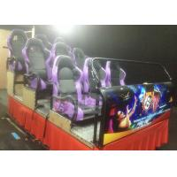 China Hydraulic 4DMovie Theater with 6 DOF Motion 4D Cinema Chair wholesale