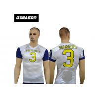 China new design custom american sublimation tackle football uniforms american rugby training jersey wholesale