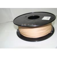 Quality 0.8KG / roll 3D Printer 1.75mm Wood Filament Material Compatible With Makerbot / UP for sale