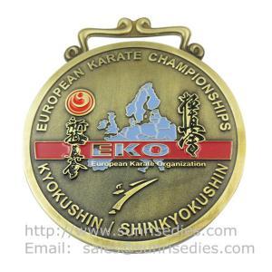 China Personalized Metal medal manufacturer in China, custom enamel metal medallion maker, on sale
