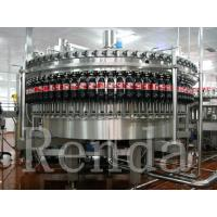 China Carbonated Drink Filling Plant PET Bottle Filling Machine With CO2 Mixing System wholesale
