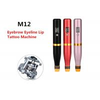 China Spiral Lip Eyelines Permanent Makeup Tattoo Machine With Built In Battery on sale