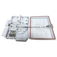 China Fiber Optical Cable Distribution Box 12 Core For Splitter Installation on sale