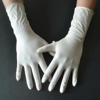 China Powder Free Disposable Medical Gloves , Medical Rubber Gloves Fingertip Textured wholesale