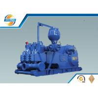 Iron F Series Drilling Mud Pumps , Oilfield Mud Pumps For Drilling Rigs
