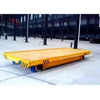 China 15t low voltage heavy load steel rail material transport bed wholesale