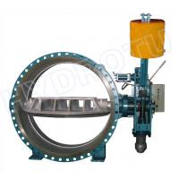 China Hydraulic Counter Weight Flanged Butterfly Valve With DN300- 3000 mm For Hydropower Project on sale