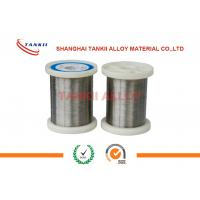 China 6J40 Precision Alloy Round Wire Low Resistance Ultrathin Silver Bright Wire/ Ribbon wholesale