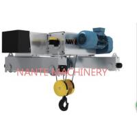 China NHA - D 5 Tons Industrial Low Headroom Electric Hoist With Wire Rope wholesale