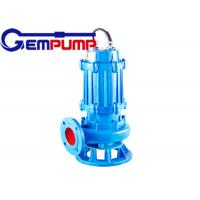 China QW type non-clogging submersible sewage pump For Factories and mines wastewater wholesale