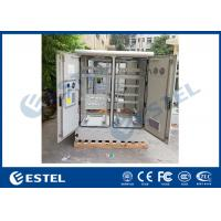 China Four Access Doors Two Compartment Outdoor Telecom Cabinet Air Conditioning System wholesale