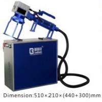 China Handle Fiber Laser Engraving Machine Small  /  Convenient Laser Marking Machine wholesale