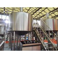 China Touch Screen Large Home Brewing Equipment 2000L Sus304 Brewhouse Equipment wholesale