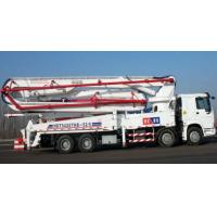 Quality Sinotruk HOWO Concrete Pump Truck With 21m Flexible And Efficient Telescopic Boom for sale