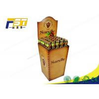 China Removable Header Cardboard Dump Bins Recycling Customized For Drinks Retails wholesale