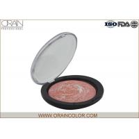 China Flower Color Baked Comestic Face Makeup Blush For Dark Skin 0.353oz wholesale