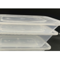 China 500 650 750 1000ml Disposable Plastic Food Containers on sale