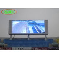 China HD P10 Full Color Smd IP65 Stadium LED Display For Advertisement wholesale