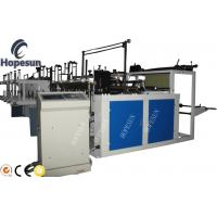 China Grocery Plastic Bag Making Machine Double Servo Motor Length Fixing High Automation wholesale