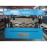 China Manual / Hydraulic Floor Deck Roll Forming Machine 22KW 26 Stations wholesale
