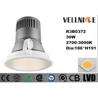 China Pure Aluminum Low Voltage LED Recessed Lighting for Commercial Lighting / Model Rooms IP20 30W/R3B0372 on sale