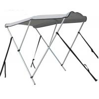 China UV Protection Pontoon Boat Canopy Grey Color Waterproof Adjustable Size on sale