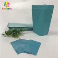 China Stand Up Foil Pouch Packaging Custom Aluminum Foil Flat Bags With Reusable Ziplock wholesale
