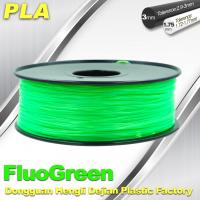 China PLA Desktop pla 3d printing material Fluorescent  Filament for Markerbot wholesale