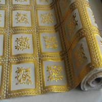 Buy cheap PET Plastic Stamping Gold Hot Foil Roll For Table Cloth No Ripples Plastic Foils from wholesalers