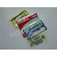 Small Clear Plastic Fishing Worm Bag Multi Colors Simply Processed 0.02mm