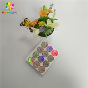 China Custom Printing Shrink Wrap Sleeves Waterproof Hologram Adhesive Sticker Label wholesale
