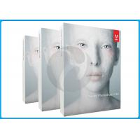 China Adobe graphoc design software cs6 extended acivation warranty with Genuine Key to register wholesale