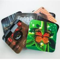China 2020 fashion christmas 3D Lenticular greeting cards,glitter printing cards 3D lenticular postcard wholesale