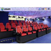 China Various Special Effects 5D Theater With 5D Motion Chair For Fantastic Future Cinema wholesale