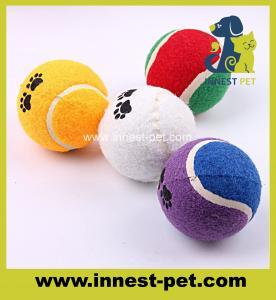 China custom LOGO dog tennis ball for pets wholesale